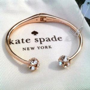 NWT Kate Spade Lady Marmalade Rose-Gold Bracelet